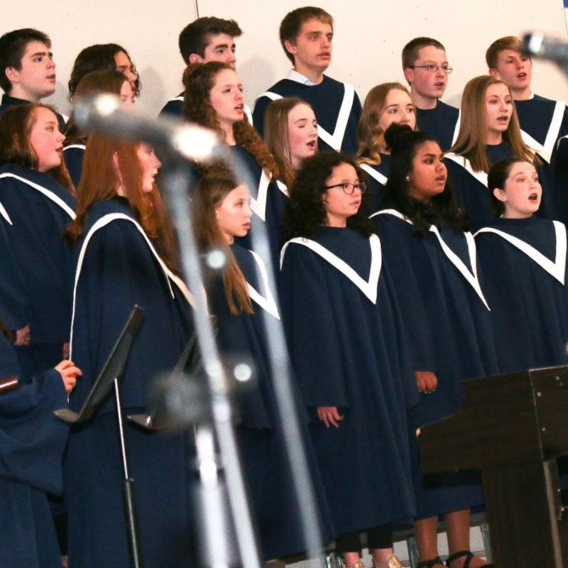 Middle school choir